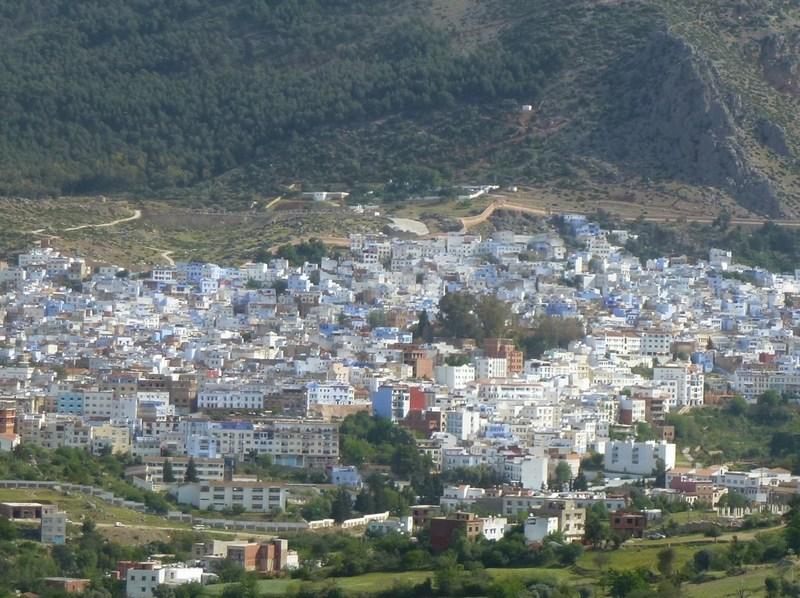 blauwe dorp marokko